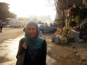unterwegs im Randgebiet von Kairo