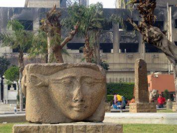 am Ägyptischen Museum