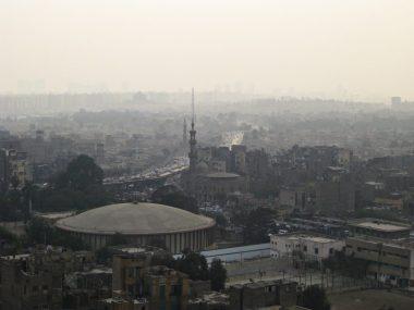 Blick über Kairo