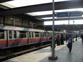 Der Ladysbreich der Metro in Kairo