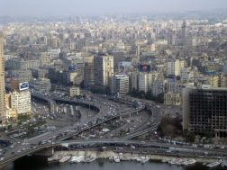 Kairo vom Kairo-Tower aus