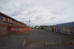 Protestantische Viertel Belfast
